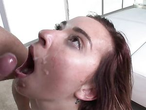 Shaved Teenage Girl With A Cups Loves Big Dick Sex