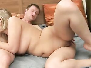 Her Crazy Hot Curves Drive Him Wild With Hardcore Lust