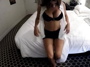 Gorgeous Escort Visits His Hotel Room To Get Fucked