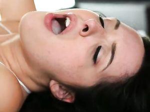 Slutty Tease Gets The Big Cock Fucking She Needs