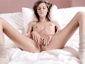 Tiny Tits Are Sexy On A Solo Masturbating Teen Girl