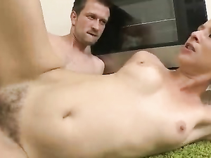 Kitchen Fucking On The Floor In Doggy Style