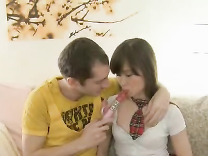 CFNM Schoolgirl Sex With A Dreamy Teen Cutie
