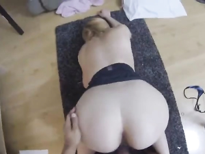 Big Round Ass Is Perfect For POV Doggystyle Fucking