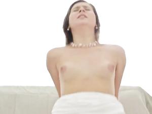 Cock Spews Hot Cum After Fucking A Gorgeous Teen