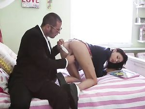 Candy Loving Schoolgirl Needs A Big Dick Inside Her