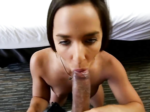 POV Fucking Of A Shaved Young Pussy In Close Up