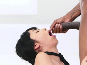 Nine Inches Of Black Dick For An Asian Teen Slut
