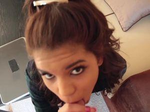 Tiny Gabriella Ford Sucks And Fucks In Sexy POV