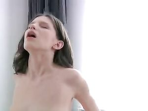Pure Teen Lovemaking With His Sensual Brunette Beauty