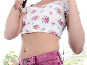 Wet Teen Kaylee Haze Spreads Wide For Hard Dick