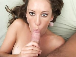 Anal Fucking And A Facial For A Cute Brunette