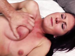 Getting Her Titties And Her Tight Cunt Fucked