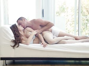 Making Out Before Doggy Style Pounding For Cute Angel